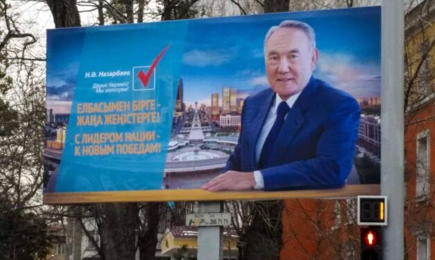 Rücktritt von Nasarbajew: Der letzte Sowjet-Diktator tritt ab