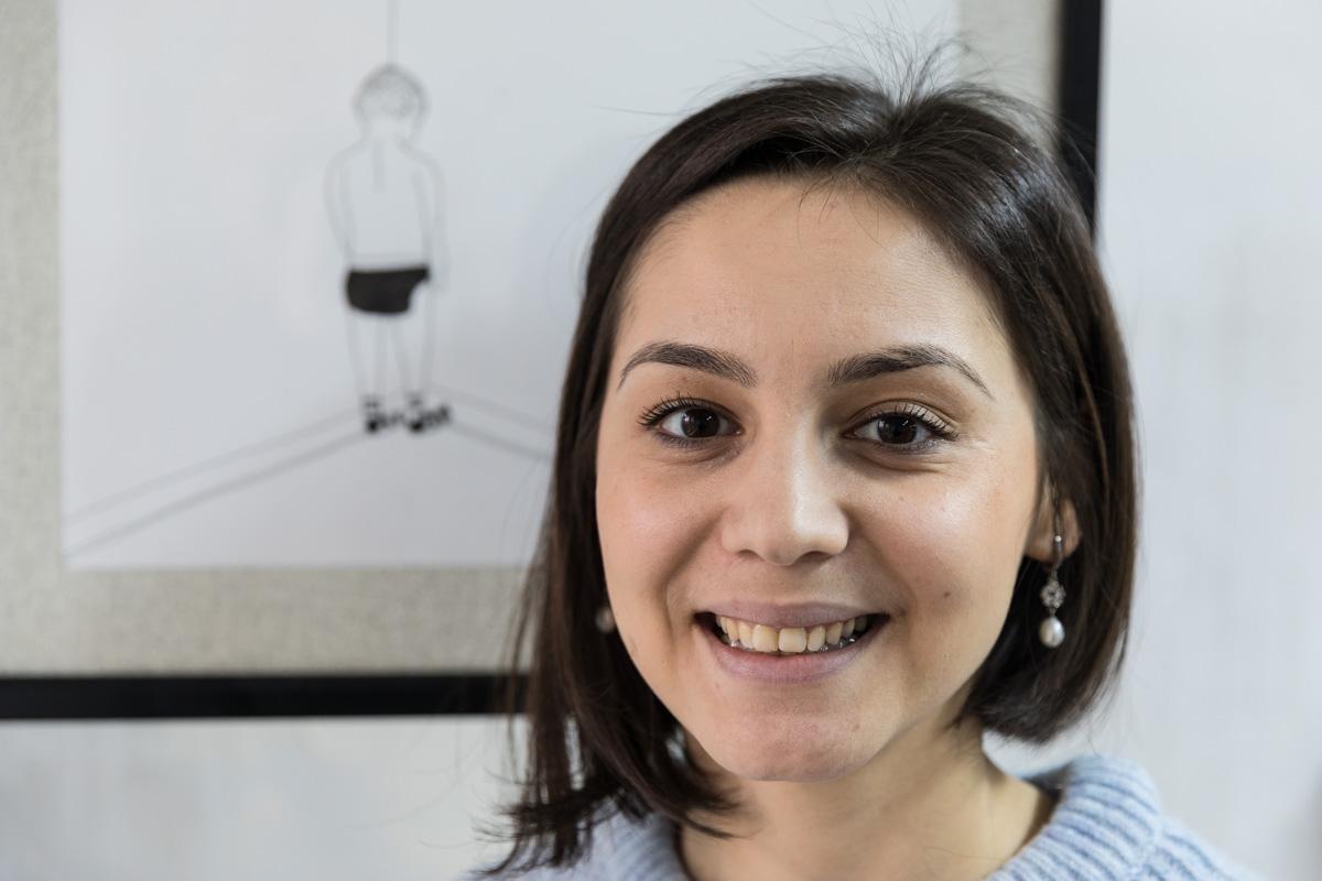 Die Tadschikin Diana Rahmanova lebt seit 2011 in Bischkek