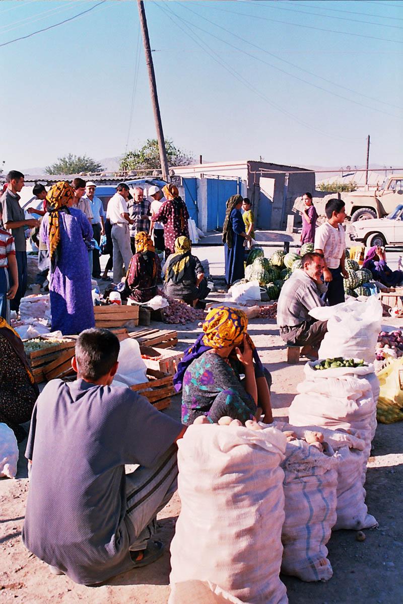 Basar in Aschgabat