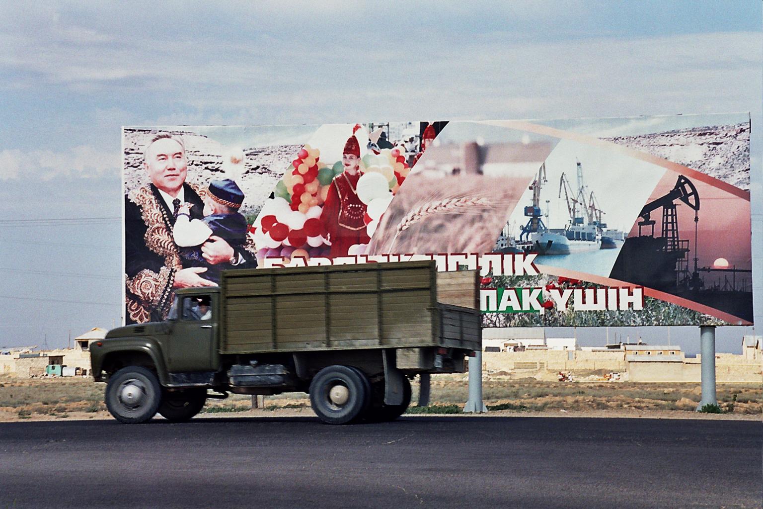 Nursultan Nasarbajew regiert Kasachstan seit fast 40 Jahren