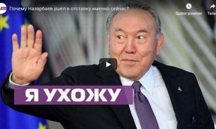 Telekanal OstWest: Gespräch zum Rücktritt von Nasarbajew in Kasachstan
